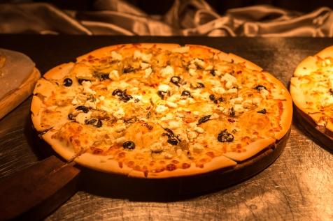 Artichoke Hearts, Olives, Feta and Pesto Pizza.jpg